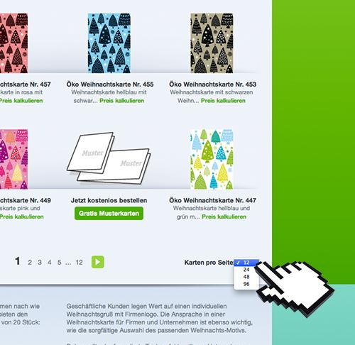 eco weihnachtskarten neues feature im online shop. Black Bedroom Furniture Sets. Home Design Ideas