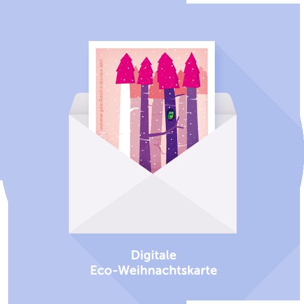 Digitale eco weihnachtskarten f r den eigenen e mail versand - Digitale weihnachtskarten ...