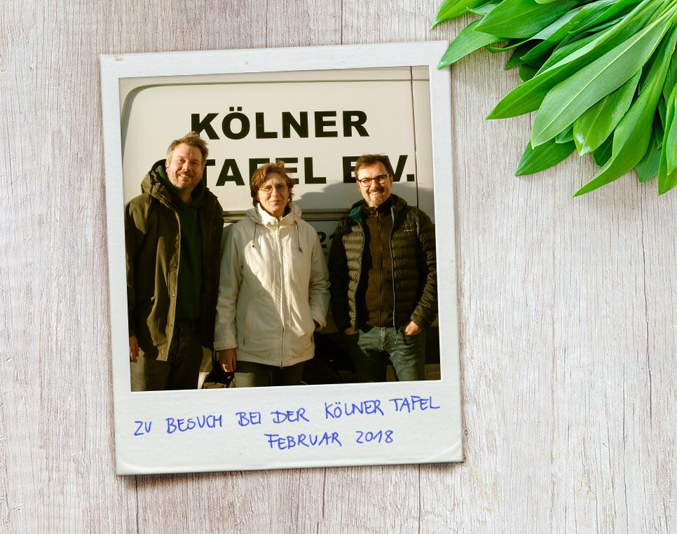 Spendenkarten Erlös geht 2017 an die Kölner Tafel