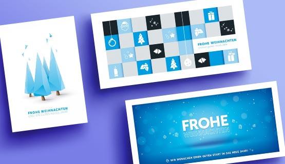 Designer Weihnachtskarten De.Geschäftliche Weihnachtskarten Von Eco Cards