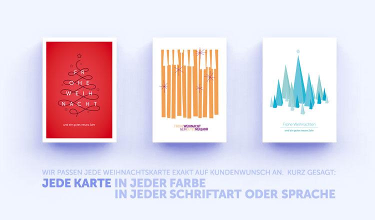 Moderne Weihnachtsgrüße Für Karten.Moderne Weihnachtskarten Eco Cards