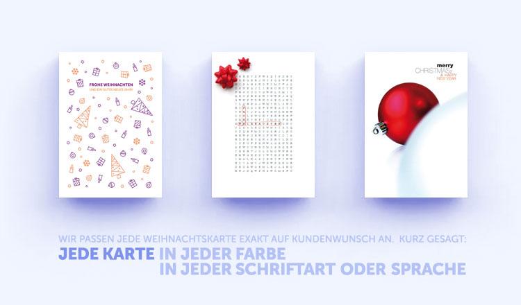 Originelle Weihnachtskarten.Originelle Weihnachtskarten Eco Cards