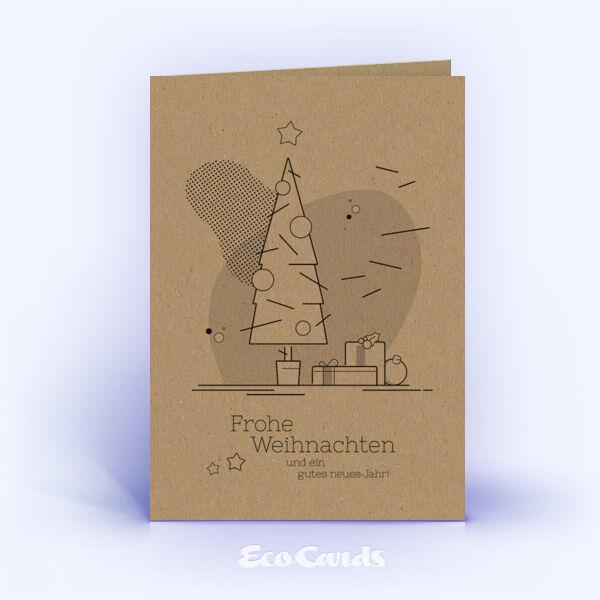 Individuelle Weihnachtskarten.Weihnachtskarten Nr 1745