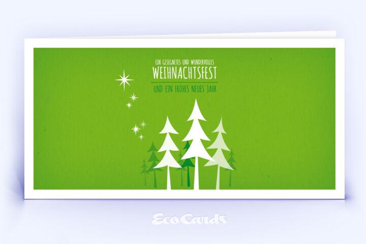 weihnachtskarte 450 gruen mit einem christbaum zeigt eine. Black Bedroom Furniture Sets. Home Design Ideas