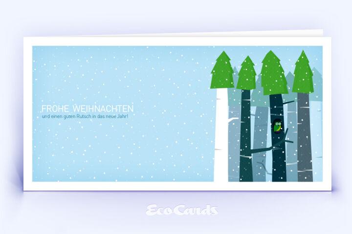Stylische Weihnachtskarten.Weihnachtskarte Nr 552