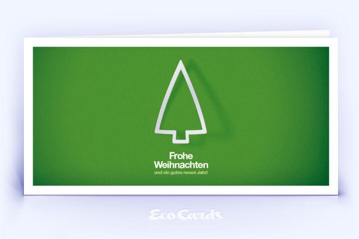weihnachtskarte 722 gruen mit christbaum ist mit einem. Black Bedroom Furniture Sets. Home Design Ideas