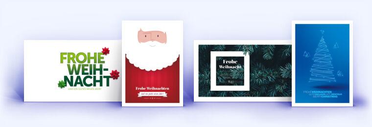Weihnachtskarten Exklusiv.Exklusive Weihnachtskarten Von Eco Cards