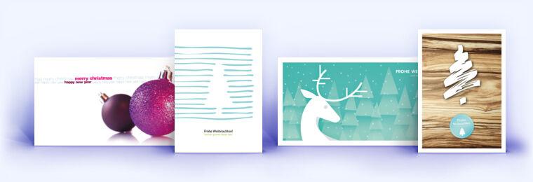 festliche weihnachtskarten und die weihnachtskarte mit. Black Bedroom Furniture Sets. Home Design Ideas