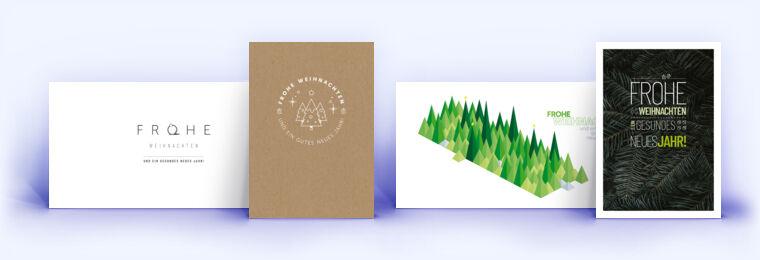 Individuelle Weihnachtskarten.Individuelle Weihnachtskarten Von Eco Cards