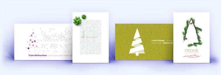 Kreative Weihnachtskarten.Kreative Weihnachtskarten Für Geschäftskunden Eco Cards