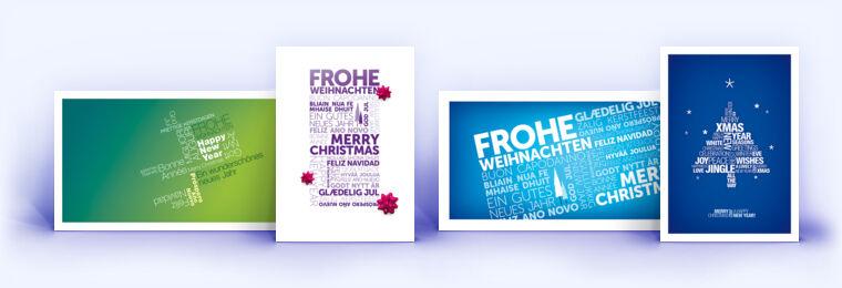 weihnachtskarte mit word cloud weihnachtskarten mit. Black Bedroom Furniture Sets. Home Design Ideas